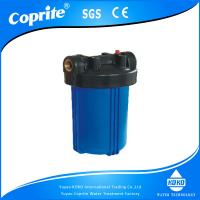 Wholesale 10 inch Big Blue Water Filter Housing with Brass Thread Water Filter Housing from china suppliers