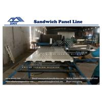 Wholesale Wall and Roof Plate Structure PU Sandwich Panel Machine Galvanized Sheet from china suppliers