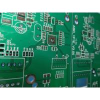 Buy cheap High Precision Rigid Sided PCB Board Assembly FR4 Material With 2-layer Green Solder Mask from wholesalers