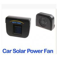 Wholesale Solar Power Car Auto Cool Air Vent With Rubber Stripping from china suppliers