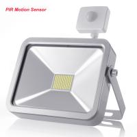 Wholesale Outdoor LED Flood Lights IP65 With PIR Motion Sensor , Garden Security Lighting 30W from china suppliers