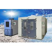 Wholesale Larger Volume Electroplated SUS304 Walk-in Climatic Test Chamber / Rooms from china suppliers