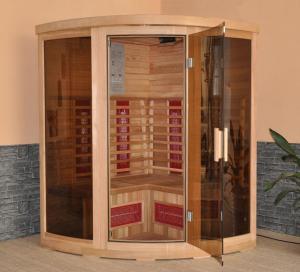 China Double-Side Control Board Red Cedar Sauna (FIS-3G) on sale