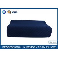 Quality China Supplier Blue Memory Foam Support Pillow Contour Wave Shaped for sale