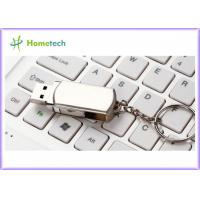 Wholesale Rotated Metal USB Flash Drives / personalized jump drives Swivel Style from china suppliers
