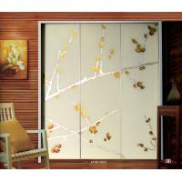 Wholesale Contemporary Decorative Laminated Glass Doors Interior For Wardrobe Door from china suppliers