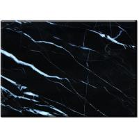 Wholesale Nero Margiua Black cleaning marble floor tiles 12 x 12 16 x 16 24 x 24 from china suppliers