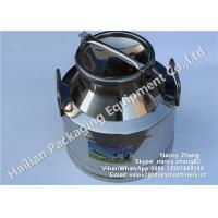 Wholesale 15 Liter Double Walled Stainless Steel Milk Bucket High Strength For Beverage / Beer from china suppliers