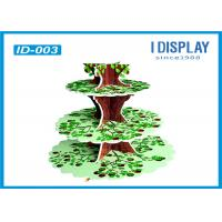 Wholesale Multi Level Retail Cardboard Advertising Display Stands With Tree Shaped Design from china suppliers