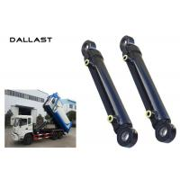 China 10-500 mm Bore Garbage Truck Hydraulic Cylinders Steel Piston Vertical Compression on sale