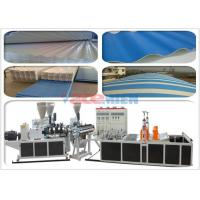 Wholesale Lightweight Enduring Color PVC Tile Forming Machine For Roof Sheet 0.8 - 3mm from china suppliers