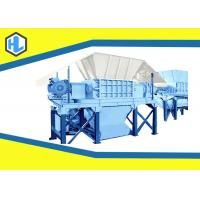 Wholesale Q235 Material Wood Waste Shredder Machine , Industrial Paper Shredder Machine from china suppliers