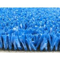 Wholesale 10mm tennis Colored blue Artificial Turf polyethlylene Fibrillated yarn from china suppliers