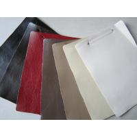Wholesale Easy Clean Polyurethane Faux Textured Leather Fabric For Sofa Cushions from china suppliers
