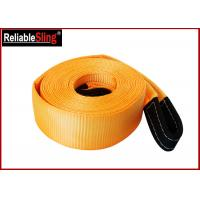 Wholesale OEM Multi Color 3 Inch Polyester Heavy Duty Tow Straps Load Capacity 30000 lbs from china suppliers