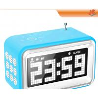 Wholesale Digital Mini Speaker MP3 / Computer Electronic Calendar Clock With Alarm / Radio from china suppliers