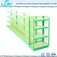 Wholesale 5 Levels Metal Supermarket Display Racks Powder Coated Surface Various Color from china suppliers