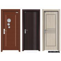 Wholesale 45mm Outward Swing Wood PVC Doors with MDF / Solid Wood Frame from china suppliers