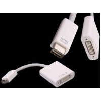 Wholesale 15CM Mini DVI Male to HDMI Female Adapter Convertor Cable for Macbook pro iMac from china suppliers