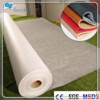 Wholesale Polyester Nylon Microfiber Nonwoven Synthetic Leather Fabric Raw Material from china suppliers