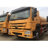 Wholesale High Pressure 4000 Gallon Water Truck , LHD 6X4 Construction Water Trucks from china suppliers