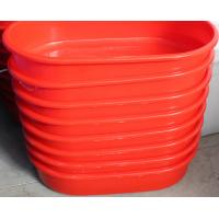 Wholesale Offer 2013 PE Red plastic long oval Basin using aquatic product from china suppliers