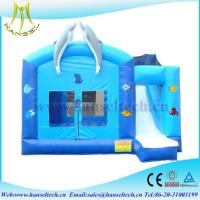 Buy cheap Hansel customer design dolpin bouncy castle air pumps for children from wholesalers