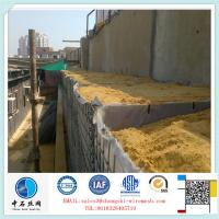 Factory Qualitified Welded Mesh Gabion Box for military bastion
