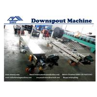 Wholesale 29 Gauge to 26 GaugePortable Dowspout Rollformer Machine With Fly Saw Cutt Off from china suppliers