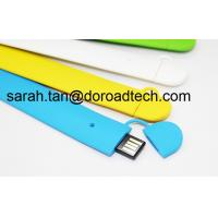 Wholesale 100% Real Capacity High Quality Silicone Wrist Band USB Flash Drives from china suppliers