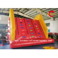 Wholesale Giant Adult Inflatable Climbing Wall With Mattress , Inflatable Climbing Mountain from china suppliers