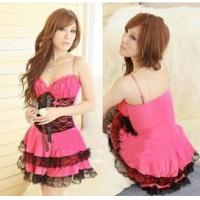 Wholesale Halloween costumes holloweenparty costume LACE RED sexy charming costumes from china suppliers