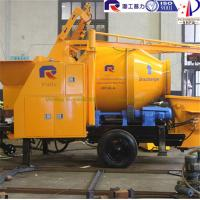Wholesale Pully Brand mini concrete mixer pump for building construction, portable mixer pump, concrete pump from china suppliers