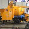 Buy cheap Pully Brand mini concrete mixer pump for building construction, portable mixer pump, concrete pump from wholesalers