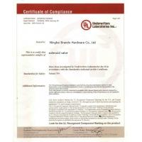 Ningbo Brando Hardware Co., Ltd Certifications