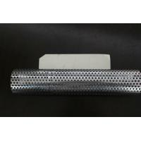 Wholesale Perforated Stainless Steel Pipe Welded For Decorating / Cage Ventilation from china suppliers