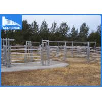 Wholesale 40*80mm Oval Cattle Wire Fence Panels , Welded Wire Livestock Panels from china suppliers