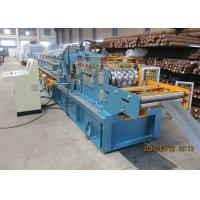 Wholesale Per Cutting Roll Forming Machine For Purlin , 100-305 Change Sizes Automatically from china suppliers