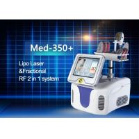Wholesale Perfect Combination Fractional RF And Diode Lipo Laser Machine High Efficiency from china suppliers