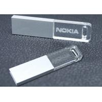 Wholesale Crystal Metal USB Flash Drive With Logo Printing 2GB 4GB 8GB 16GB Metal Thumb Drive from china suppliers