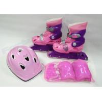 Wholesale 4 In 1 Quad Roller Skates Set 3 Wheels Quad Skates and 4 Wheel Inline Skates from china suppliers