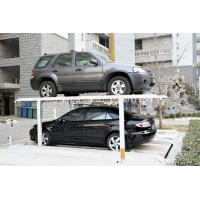 Wholesale 2-3 Cars Residential Pit Garage Parking Car Lift Car Lifts for Home Garages Parking System from china suppliers