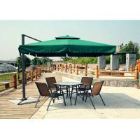 Wholesale Aluminum Beach Cafe Cantilever Patio Umbrellas Outdoor with Stainless Steel Pole from china suppliers