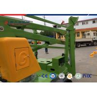 Quality Trailer 10 M Diesel Explosion Proof Hydraulic Lifting Platform Electric Articulated Boom Lift for sale