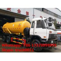 Wholesale high quality best price DONGFENG 6*4 10M3 vacuum suciotn truck for sale, dongfeng 6*4 10,000L sewage suction truck from china suppliers
