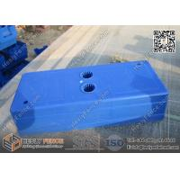 Buy cheap 570 x 245 x 130mm HDPE temporary fence Feet Available 32mm and 40mm in One HDPE base from wholesalers