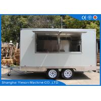 Wholesale Yieson Made Mobile Kitchen Concession Trailer For Hamburger Sale Business from china suppliers