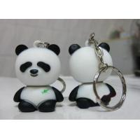 Wholesale High Speed Cute Panda Shape Plastic USB Drive With Key Chain from china suppliers