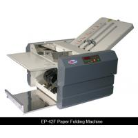 Wholesale 50W Desktop Paper Folding Machine , A3 Tabletop Paper Folder from china suppliers