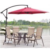 Wholesale Durable 3M Metal Iron 10 FT Patio Umbrella Garden Banana Parasol With Marble Base from china suppliers